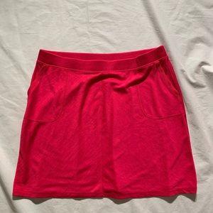"Talbots Size 3X Pink Skirt Length 24"" Poly Blend"